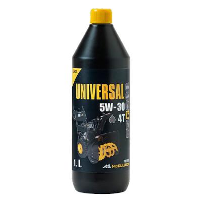 Зимнее моторное масло McCulloch Universal McC SAE 5W-30 для снегоубощика